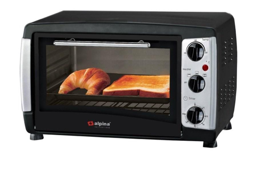 Alpina grill&bakoven 18L 800W