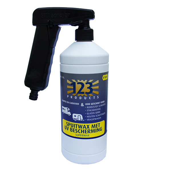 Superwax uv met sprayer