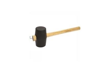Travellife rubber hamer met haringtrekker