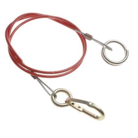breekkabel met ring 100cm